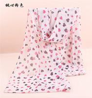 160cm*70cm New Design Printing Heart Polka Velvet Scarf Chiffon Silk winter Wrap Shawl Long Scarves For Christmas Gifts