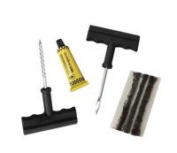 Free shipping type repair  tools Car Bike Auto TUBELESS TIRE REPAIR KIT Tyre Puncture Plug Repair Cement Tool Kit