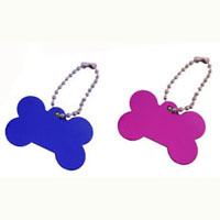 600pcs/lot Aluminum Dog Tags +  Bead Chain  Dog Tag with 10cm Ball Bead Chain