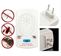 EU/US Plug Electronics Mouse Mice Mosquito Ultrasonic Cockroach Pest Reject Control Rodent Repeller Bug Scare Machine