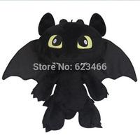 Free Shipping Gragon 2 Night Fury Plush Toy How To Train Your Dragon 2 Plush Toy 30CM Toothless Dragon Stuffed Animal Dolls