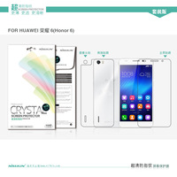 Genuine Brand New Nillkin Anti - fingerprint screen protector come with retail package For Huawei Honor 6