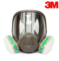 3M 6800 +6004 full facepiece reusable respirator filter protection masks anti-Ammonia NH3 and Methylamine CH3NH2seven set B82402