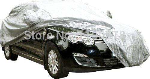 New Car Cover Water Proof Rain Snow Sun Dust for Ford Focus Sedan 2008 2009 Grey(China (Mainland))