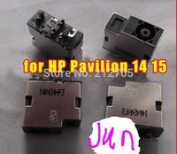 Original new DC power jack for HP Pavilion 14 15 ENVY 14 15 power connector head single head