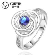 2014 SALE joias 925 Silver ruby Austrian Crystal CZ Simulated Diamonds Fashion Jewelry Acessories new design