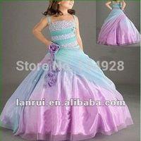 wedding party dress new 2014 summer flower girl dresses cute children dress pageant dresses for little girls suit