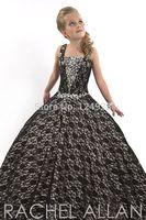 Best Design Fashion Sweet White Precious Net Criss-Cross Sleeveless Flower Girl Dress Made Any Size