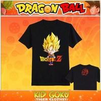 Dragon Ball T-shirt Anime Son Goku Cosplay T Shirt Fashion Men Women Clothing Saiyan Cotton Tshirt Tops Tees
