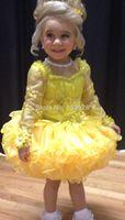 Wedding Ivory/Brown Chocolate Formal Flower Girl Dress Gown Hot Beauty Girl's Dresses New  Dresses for Girls