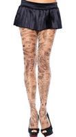 New Women Sexy   Ancient  Tattoo Print Ttights  Stockings Pantyhouse  3531