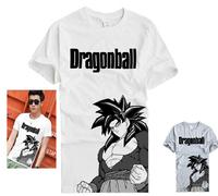 New Dragon Ball T-shirt Anime Goku Cosplay T Shirt Fashion Men Women Clothes Cotton Tshirt Tops Tees