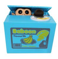 Monkey Lovely Steal Money Monkey Coins Piggy Bank Saving Box Money Box Xmas Christmas Gift Free Shipping
