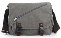 New Korean style men canvas bag casual shoulder and Messenger bag HSM19