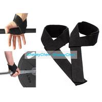 2pcs Hand Bar Wrist Brace Sports Safety Gym Straps Weight lifting wrap Body Building Grip Gloves Fitness skid wrist strap grip