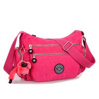 2014 Fashion Women Travel Bag Waterproof Shoulder Messenger Nylon Crossbody Bags For Women Free Shipping 10 Colors