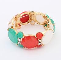 Fashion jewelry wholesale jewelry bracelet handmade tourmaline loose beads jewelry accessories