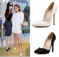 Fashion all-match sexy pumps pointed toe thin heels high-heels women's shoes