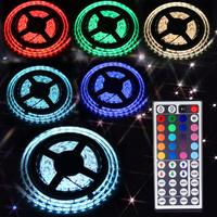2014 New 5M SMD RGB 5050 Waterproof Strip light 300 LED + 44 Key IR Remote#L77893
