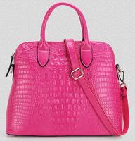 New women's bags 2014 European and American style fashion luxury leather crocodile skin big bag shoulder bag