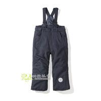 Suspenders detachable dual-use skiing bib pants child cotton-padded k120116 bib pants