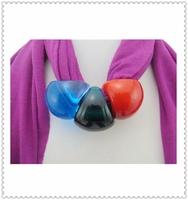 Wholesale Yiwu Scarf Ladies Scarve Three Colors Bead Neck Scarve