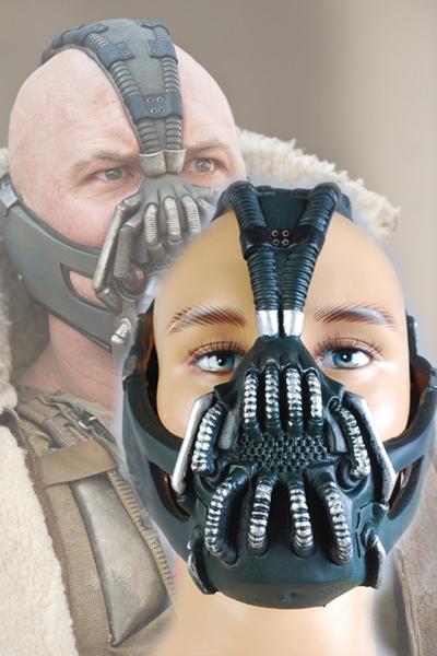 Batman:The Dark Knight Rises Bane Dorrance Mask Cosplay Prop Costume Helmet(China (Mainland))