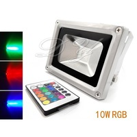 Outdoor 10W RGB Led Flood Light Colour Changing Lamp IP65 Waterproof + 24key IR