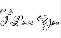Free Shipping Original I Love you vinyl wall decal quote sticker decor Inspirational ON Wall Decal Sticker Vinyl Wall Room Decal