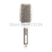 53mm Hair Dressing Hair Salon Ceramic Iron Round Comb Styling Brush Barrel Drop Shipping Wholesale