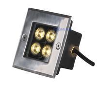 Bridgelux 4W LED underground light Outdoor lamps  Underground lamp Garden lamps IP67 100-240V AC