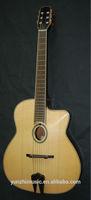 yunzhi mahogany log colour fully handmade gypsy guitar