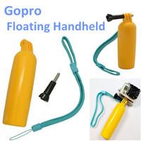 Gopro Accessories PP Material Bobber Floating Handheld Monopod Stick Floaty Grib W/ Wrist Strap for Go pro Hero Hero 2 Hero 3