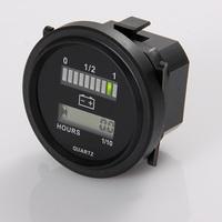 12/24 36v 48V & 72 hour meter and battery indicator Golf Cart, Boat, Battery Indicator car
