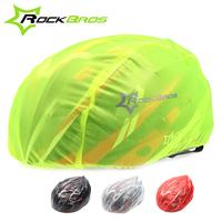 Rockbros Windproof Dust-proof Rain Cover MTB Road Bike Cycling Cycle Ultra-light Helmet Covers New, 4 Colors