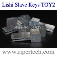 TOYOTA Traning keys TOY2 Slave Keys Locksmith Tool