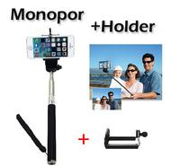 Gopro Handheld Monopod 2ni1 1PCS Camera Tripod Mobile phone Monopod + 1PCS cellphone holder for i9300 i9500 n9006 n7100 DV