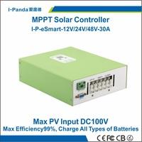 Economic MPPT solar controller  48V 30A PV regulator 30A 48V Solar Panel Battery Controller12V 24V 48V 30A Regulator