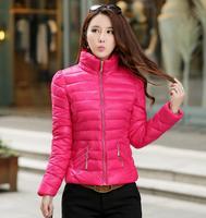 Free Shipping 2014 Winter Jacket Women Turtleneck Down Coat Female Slim Outwear New Women's Clothing