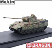 1/72 Model Tanks Dragon Toys Figure WWII German Panzerkampfwagen V Ausf Tank Armored Car Camouflage Toys Panther Tank Model(China (Mainland))