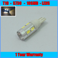 2x T10 168 W16W for 5730 Cree Emitter High Power LED Projector Turn Tail Signal DRL White
