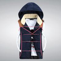 2014 new winter men's vest cotton vest Korean vest jacket wholesale