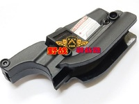 New red laser dot sight picatinny rail mount for M9 pistol Black color Free shipping