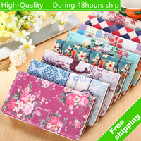 High Quality Painted I Horizontal Flip Leather Case with Holder for LG Google Nexus 5 E980 Free Shipping UPS DHL CPAM HKPAM