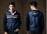 men jacket 2014 jaquetas militares casual Jackets Men's Sport Coat Outerwear Coat Hooded Jackets 3 color