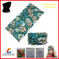 100% Polyester Latest FASHION bandana sport scarf headwear multifunctional  magic outdoor cool black bandana LST-56
