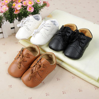 British Style Baby Kids Shoes Infant Toddler Leather Shoes Prewalker Sz 4-6 New Free Shipping