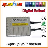 1pc 55W Slim HID Xenon Ballast Replacement Electronic Digital Conversion Ballast,hid ballast 12v 55w