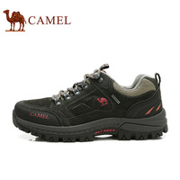 Male Outdoor Slip-resistant Wear-resistant Plus Genuine Leather Hiking Shoes Walking Shoes brand camel shoes men