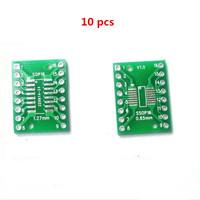 10PCS SOP16 SSOP16 TSSOP16 DIP 0.65/1.27mm IC Adapter PCB Board